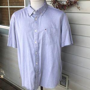 Tommy Hilfiger SS Button Down Shirt.  Men's XL.